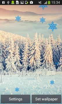 Snowfall Live Wallpapers apk screenshot