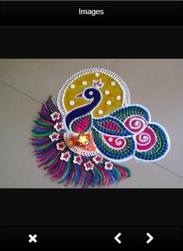 Latest Rangoli Designs Freehand poster