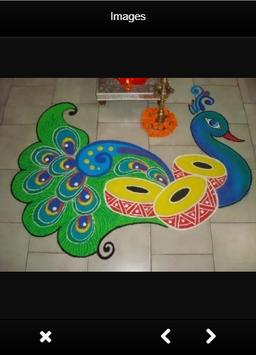 Latest Rangoli Designs Freehand apk screenshot