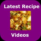 Latest Recipe Videos icon