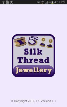 Latest SILK THREAD Jewellery Making Videos 2018 poster