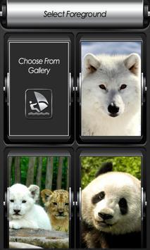 Wild Animal Zipper Lock Screen screenshot 2