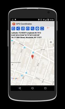 GPS Coordinates screenshot 6