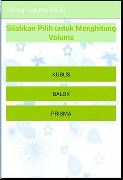 Hitung Volume Disini poster