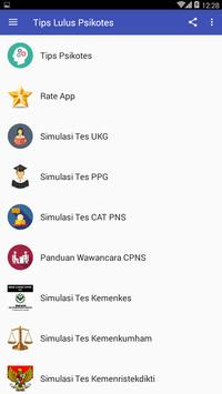 Tips Lulus Psikotes screenshot 1