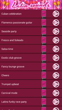 Latin Sounds – Free Ringtones apk screenshot