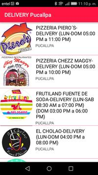 DELIVERY Pucallpa screenshot 1