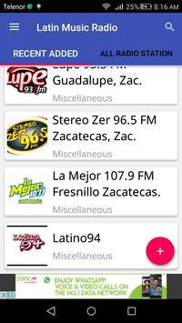 Latin Music Radio apk screenshot