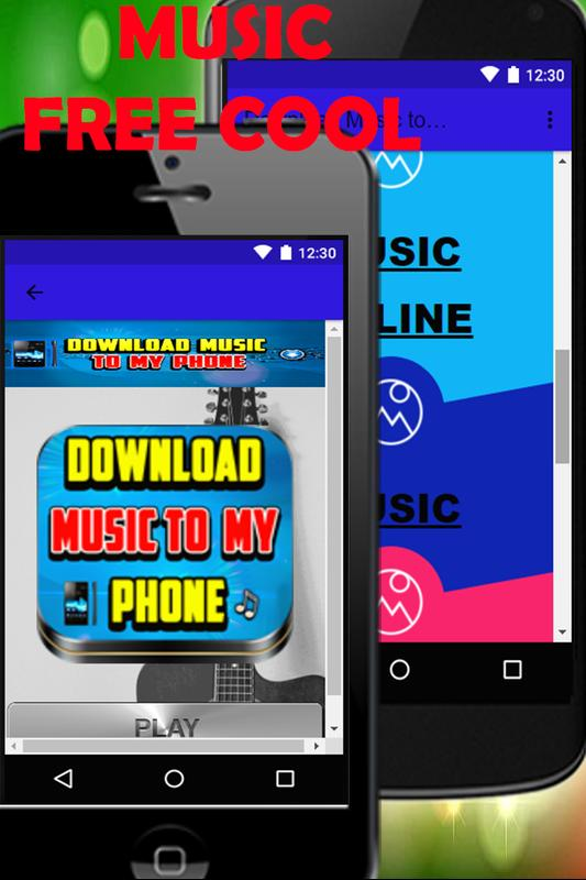 free download music to my phone
