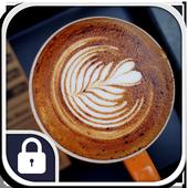 Latte Coffee Art Lock Screen icon