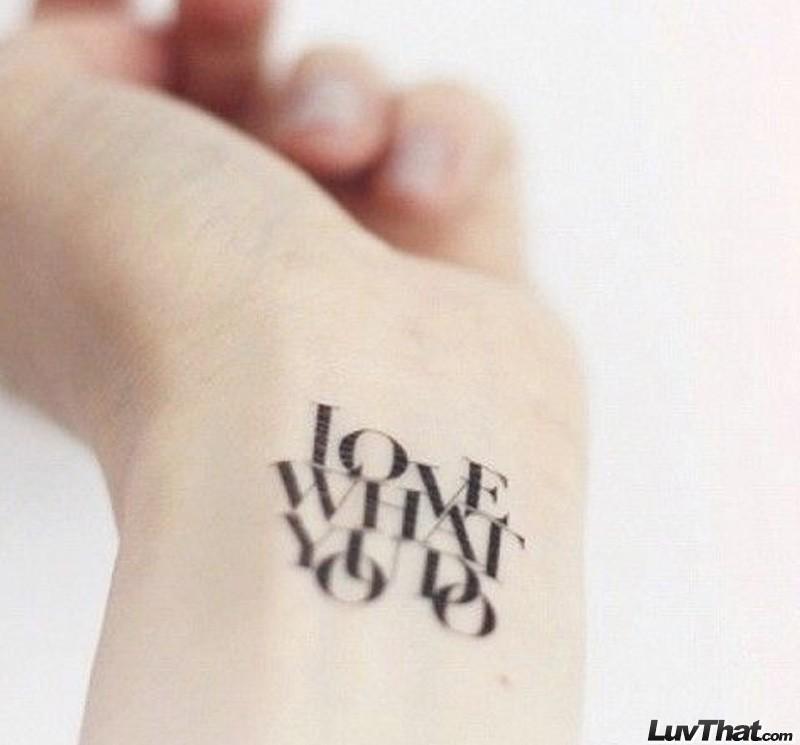 lattering tattoos poster