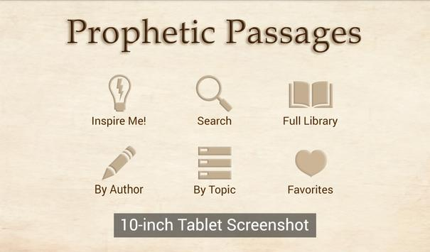 Prophetic Passages Free apk screenshot