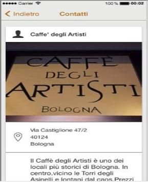 Caffe' Degli Artisti Bologna screenshot 1