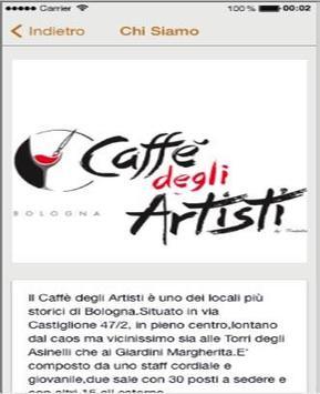 Caffe' Degli Artisti Bologna screenshot 2