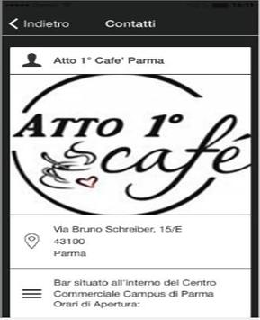 Atto 1 caffe parma screenshot 2