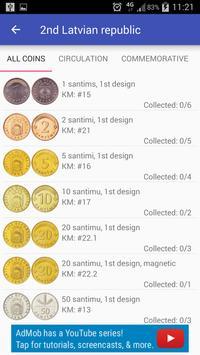 Coins of Latvia screenshot 1