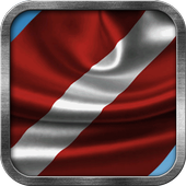 Latvian Flag Live Wallpaper icon