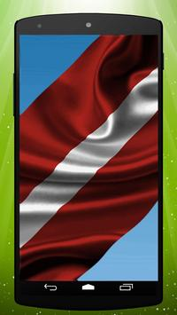 Latvian Flag Live Wallpaper poster