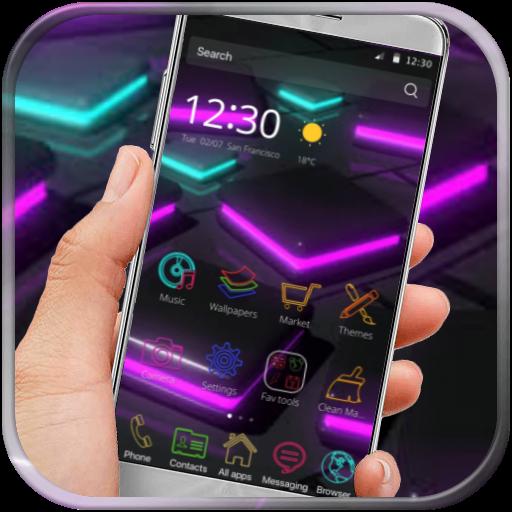 Neon HD Wallpapers Launcher