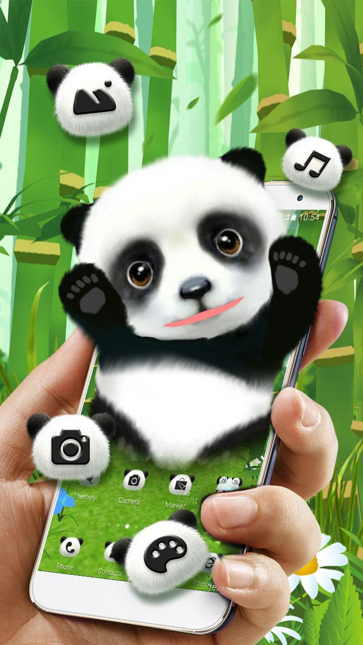 Tema Panda Lucu 3d For Android Apk Download