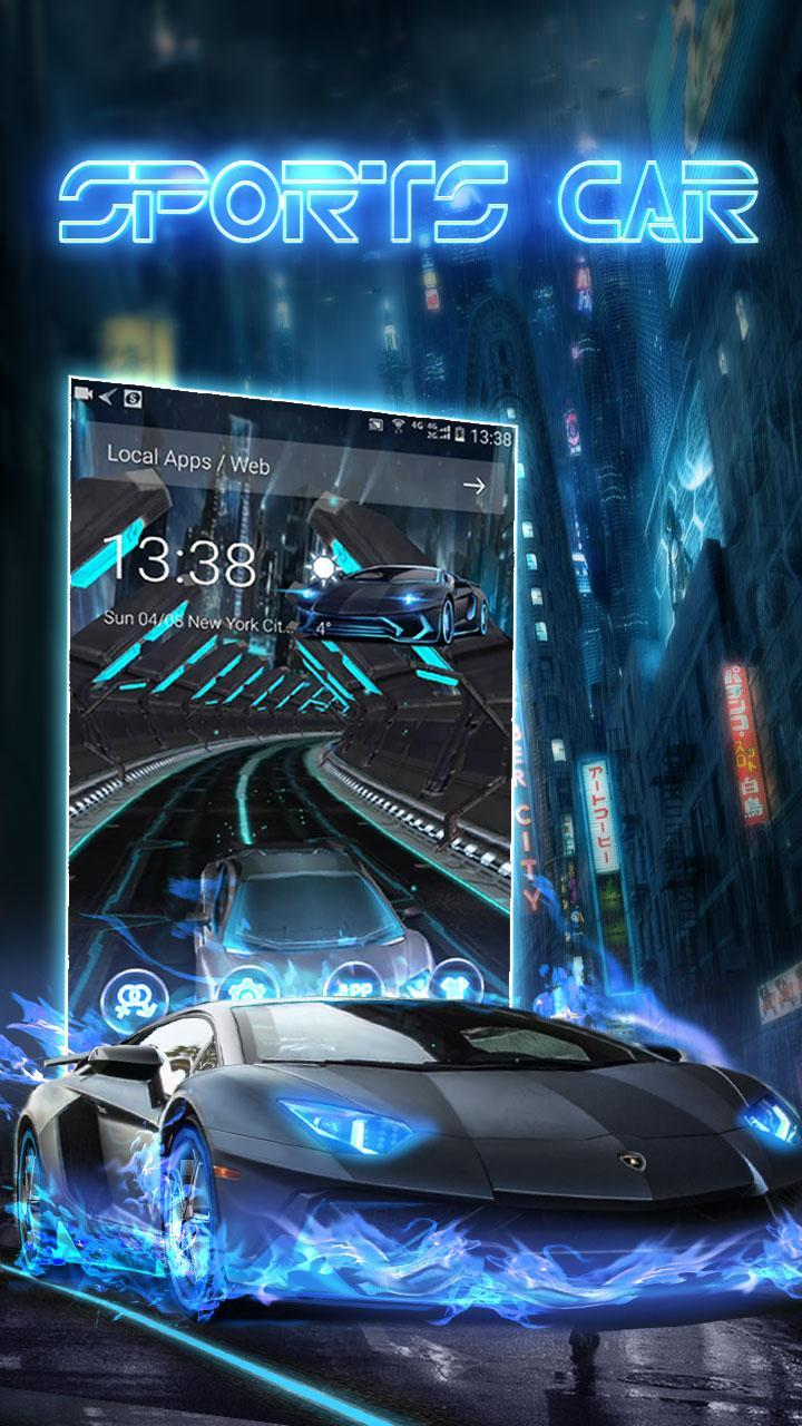 Speedy 3D Sports Car Theme for Android - APK Download