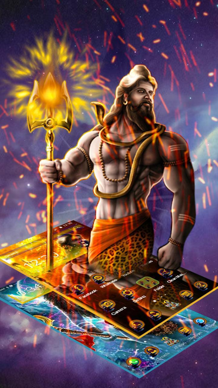 Lord Shiva Mahakal Live Wallpaper For Android Apk Download