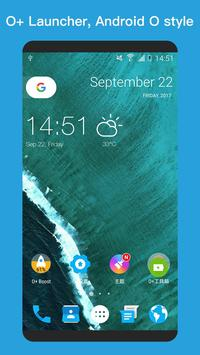 O+ launcher -Nice O Launcher for Android™ 8.0 Oreo poster