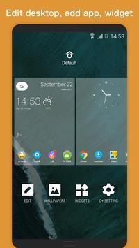 O Plus launcher - 2018 Oreo Launcher, Android™ O 8 apk screenshot