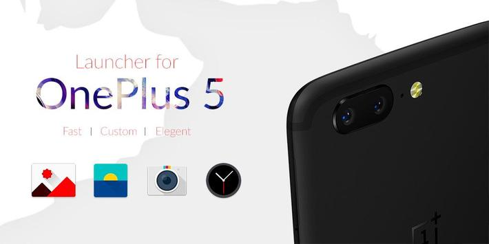 Launcher for One Plus 5 poster