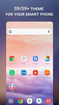 Launcher Theme for Samsung Galaxy S9/S9+ poster