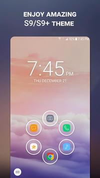 Launcher Theme for Samsung Galaxy S9/S9+ screenshot 1