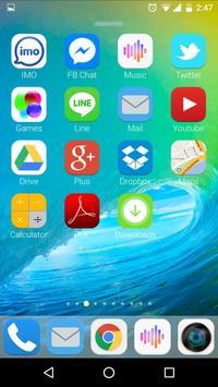 Launcher for IOS 9 screenshot 10
