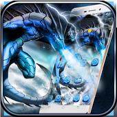 Ice Dragon Theme Wallpaper &Lock Screen icon