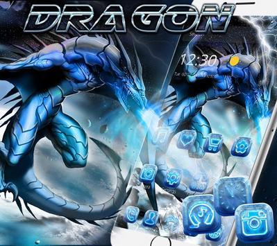 Ice Dragon Theme Wallpaper &Lock Screen apk screenshot
