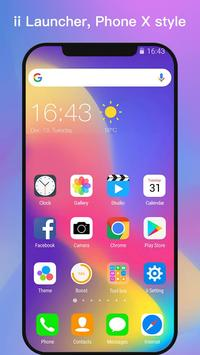 ii Launcher for Phone 8 & Phone X poster