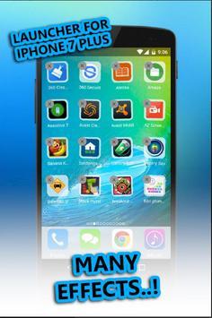 Launcher For Iphone 7 Plus * apk screenshot