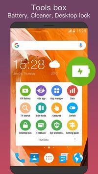 King launcher (KK Launcher) apk screenshot