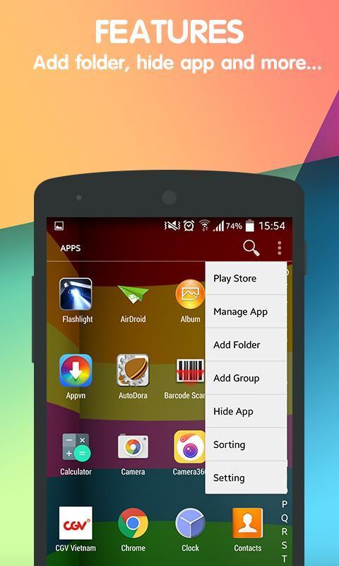 lollipop launcher apk app download