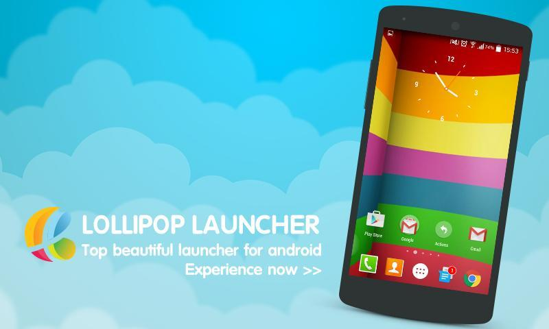 LoLi - Lollipop Launcher for Android - APK Download