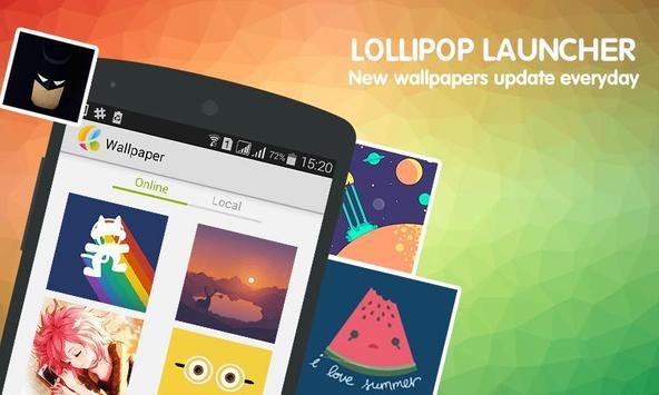 LoLi - Lollipop Launcher screenshot 1