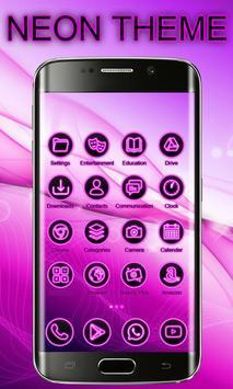 Neon Launcher Theme Free screenshot 4
