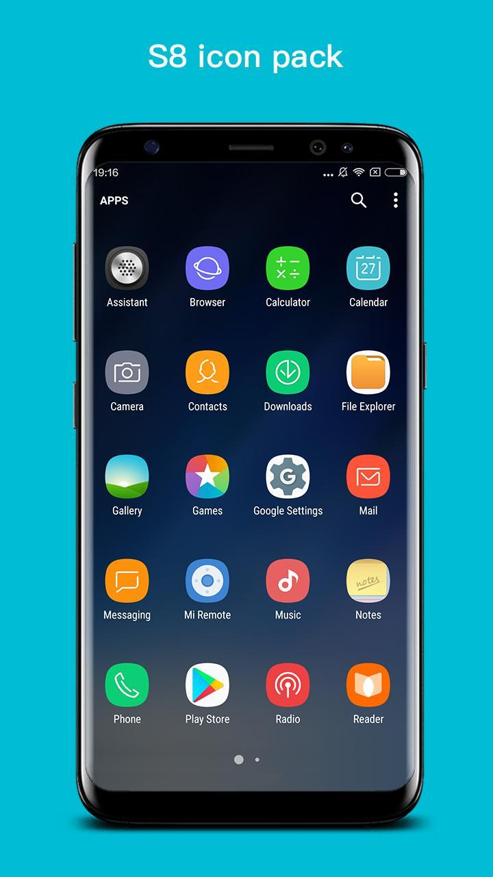 S+ S8 Launcher - Galaxy S8 Launcher, Theme for Android - APK Download