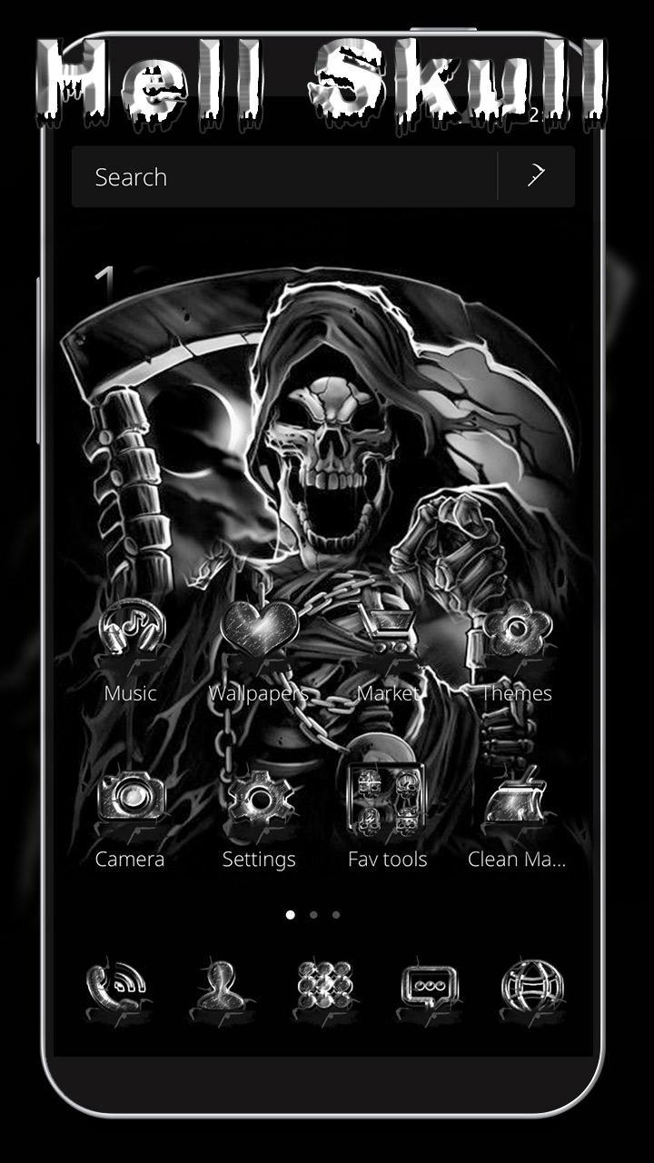 Skull theme grim reaper for Android - APK Download