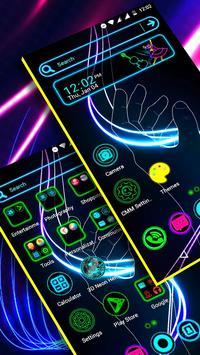 Neon Launcher Theme poster