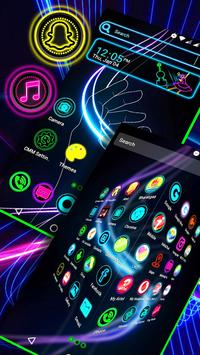 Neon Launcher Theme screenshot 1