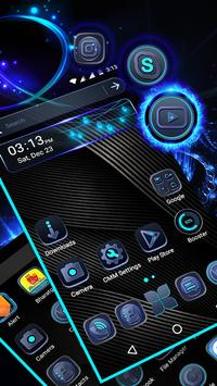 Cool Black Launcher Theme poster