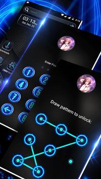 Cool Black Launcher Theme screenshot 2