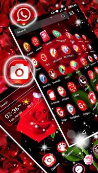 Rose Launcher Theme screenshot 2