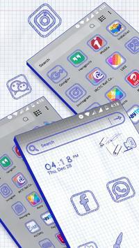 Sketch Launcher Theme screenshot 2