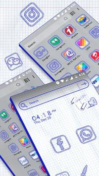 Sketch Launcher Theme screenshot 2